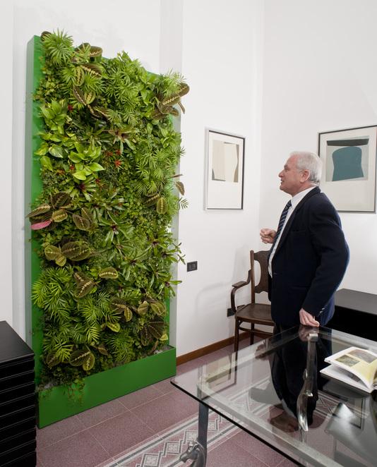 Ortisgreen 12 zahrada na st nu vertik ln zahrady - Prato verticale per interni ...
