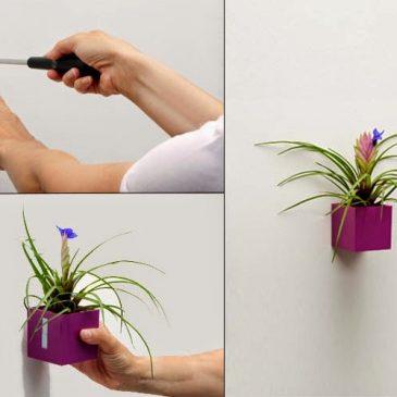 Jak se dají využít magnetické květináče