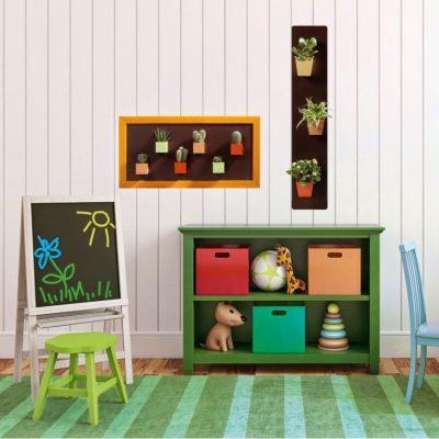Magnetické obrazy v dětském pokoji