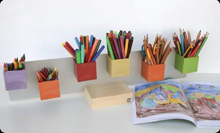 Magnetické květináče udělají pořádek na vašem stole nebo stole vašich dětí