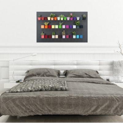 Široká nabídka tvarů a barev magnetických květináčů