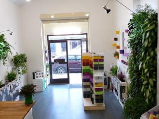 Zahrada na stěnu má showroom